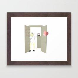 He Loves Framed Art Print