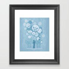 Don't Burst the Bubble Framed Art Print