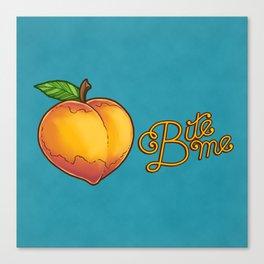 Bite Me Canvas Print