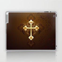 Golden Cross Laptop & iPad Skin