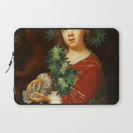 weed girl Laptop Sleeve