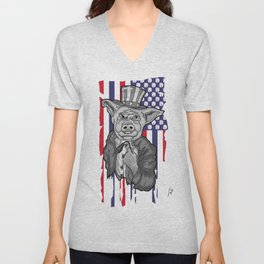 Pig Socket Unisex V-Neck