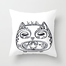 KKG Owl Throw Pillow