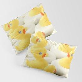 Rubber Ducky Time Pillow Sham