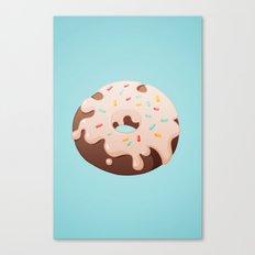 Sprinkle Donut Canvas Print