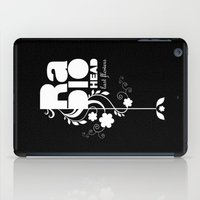 radiohead iPad Cases featuring Radiohead song - Last flowers illustration white by LilaVert