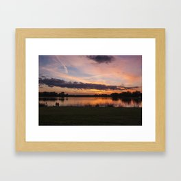 Ada Hayden Reflections Framed Art Print