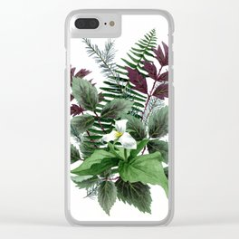 Undergrowth Clear iPhone Case