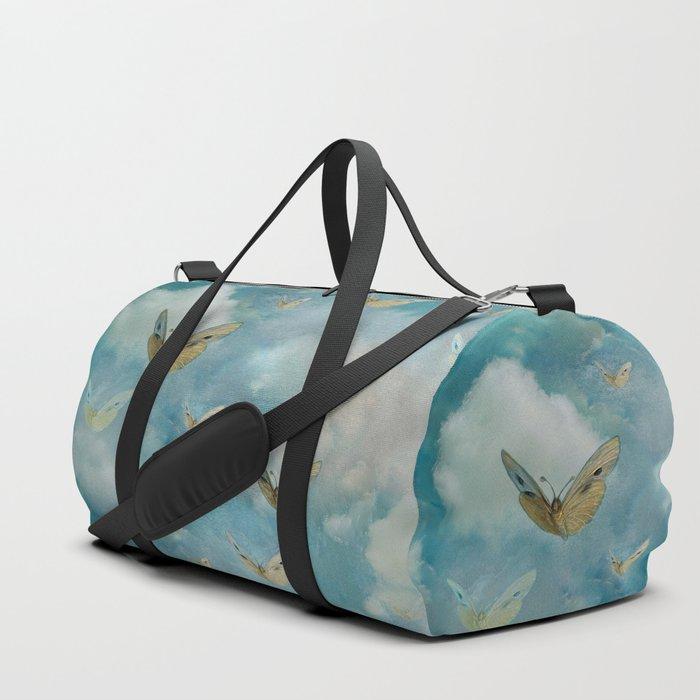"""Heaven & butterflies"" Duffle Bag"
