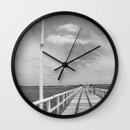 The Jetty Wall Clock