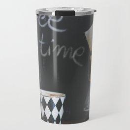 Coffee Time! Photo of coffee and mug Travel Mug