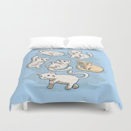 Cute Kittens Duvet Cover