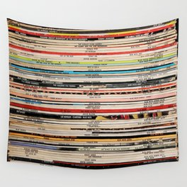 Blue Note Jazz Vinyl Records Wall Tapestry