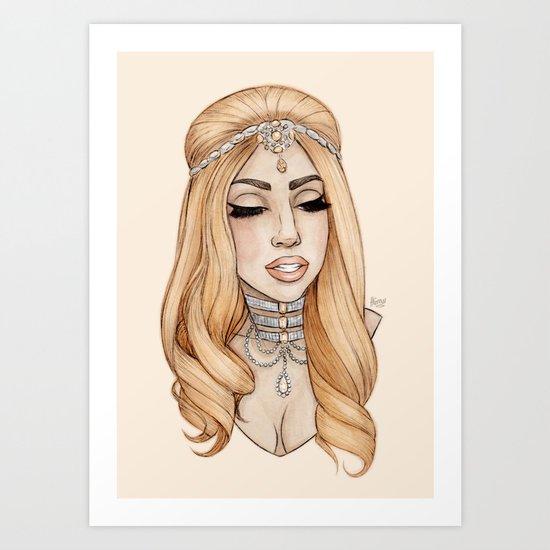 ARTPOP Princess IV Art Print