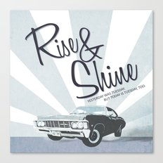 Rise & Shine: Mystery Spot Canvas Print