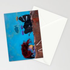 The Three Incomparable Wise Men Lecture the Unruly Giant on a Matter of Virtue Stationery Cards