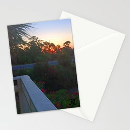 Sunrise from the Deck Stationery Cards
