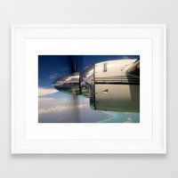 mirror Framed Art Prints featuring Mirror by Rafael Andres Badell Grau