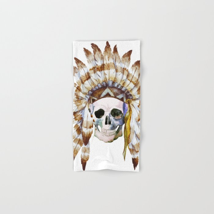 Skull 01 Hand & Bath Towel