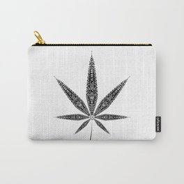 Hemp Leaf Carry-All Pouch