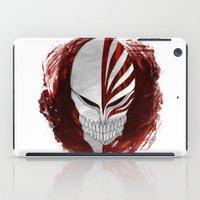 bleach iPad Cases featuring Bleach - Hollow by Bradley Bailey