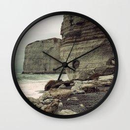 Étretat. France. Wall Clock
