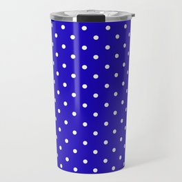 little  dots royal blue Travel Mug