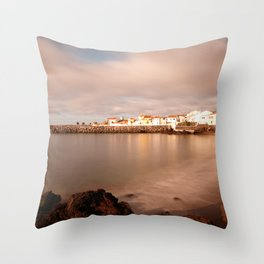 Sao Roque, Azores Throw Pillow