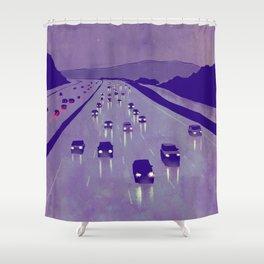 Nightscape 01 Shower Curtain