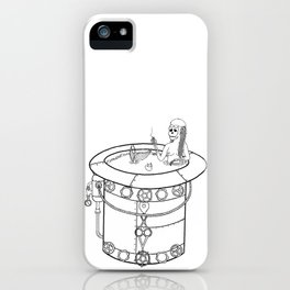 Dead Mermaid iPhone Case