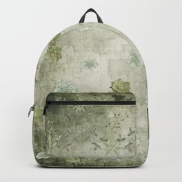 Sage Green Wallflowers Backpack