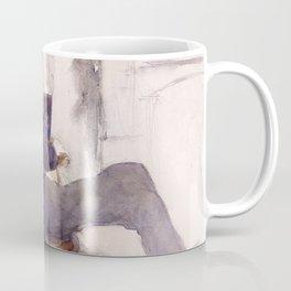 Portrait of Paul-César Helleu by John Singer Sargent - Vintage Fine Art Oil Painting Coffee Mug