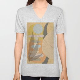 Abstractyes Unisex V-Neck
