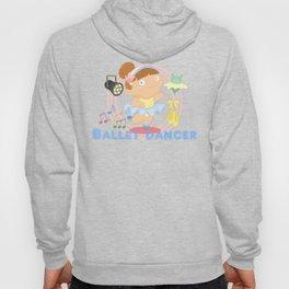 Ballet Dancer Hoody