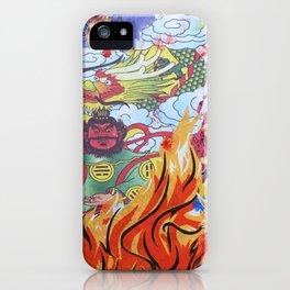 Burnin' Paper Full Canvas iPhone Case