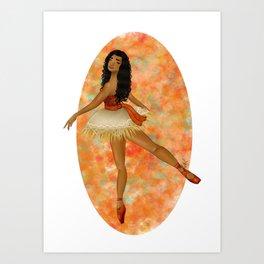 Moana (Vaiana) - Ballerina Art Print