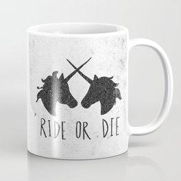 Ride or Die x Unicorns Coffee Mug