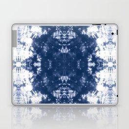 Shibori Tie Dye 2 Indigo Blue Laptop & iPad Skin