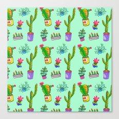 Cactus Day Canvas Print