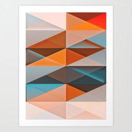 917 // Diamond Spread Art Print