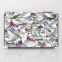 sneakers iPad Cases featuring Sneakers by Adikt