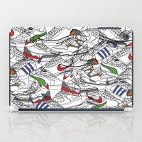 sneakers iPad Cases featuring Sneakers by Adikt