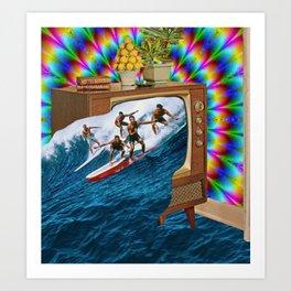 Channel Surfing Kunstdrucke