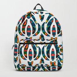 AbstractFloral Petals Backpack