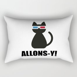 Allons-y ! Rectangular Pillow