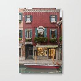 Murano Venice Italy Metal Print