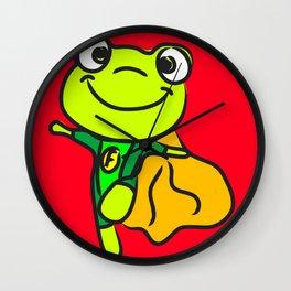 Super Frog Wall Clock