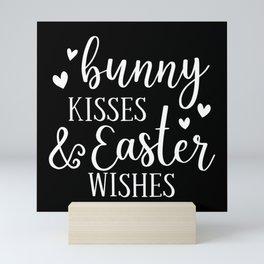Easter Bunny Easter Eggs Easter Bunny Gift Mini Art Print