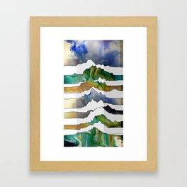 Mountain Madness Framed Art Print