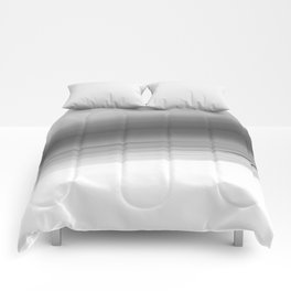Gray Smooth Ombre Comforters
